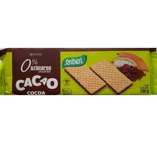 Вафли Шоколад,без захар,без палмово масло 120гр