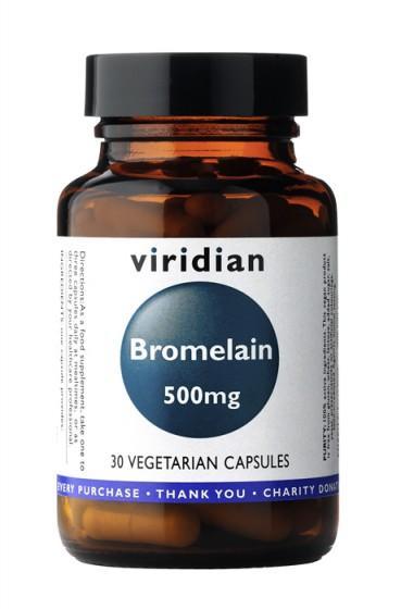 Бромелаин 500мг, 30 капсули