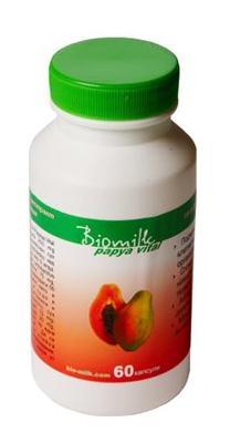 Биомилк Папая Витал, пробиотик - 60 капсули