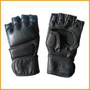 Боксови ръкавици 3304, кожа , HOS-B 5 - GR-PRO