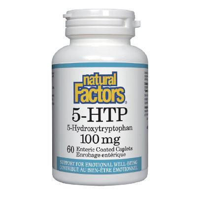 5-Хидрокситриптофан, 100 mg x 60 филм-каплети