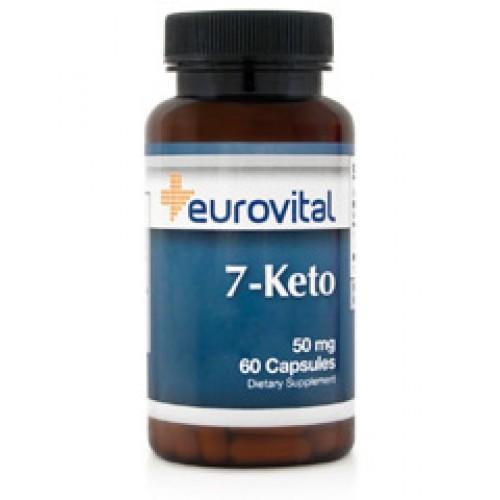 7-KETO DHEA 50mg 60 Capsules - за имунната система и паметта