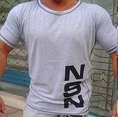 тениска сива