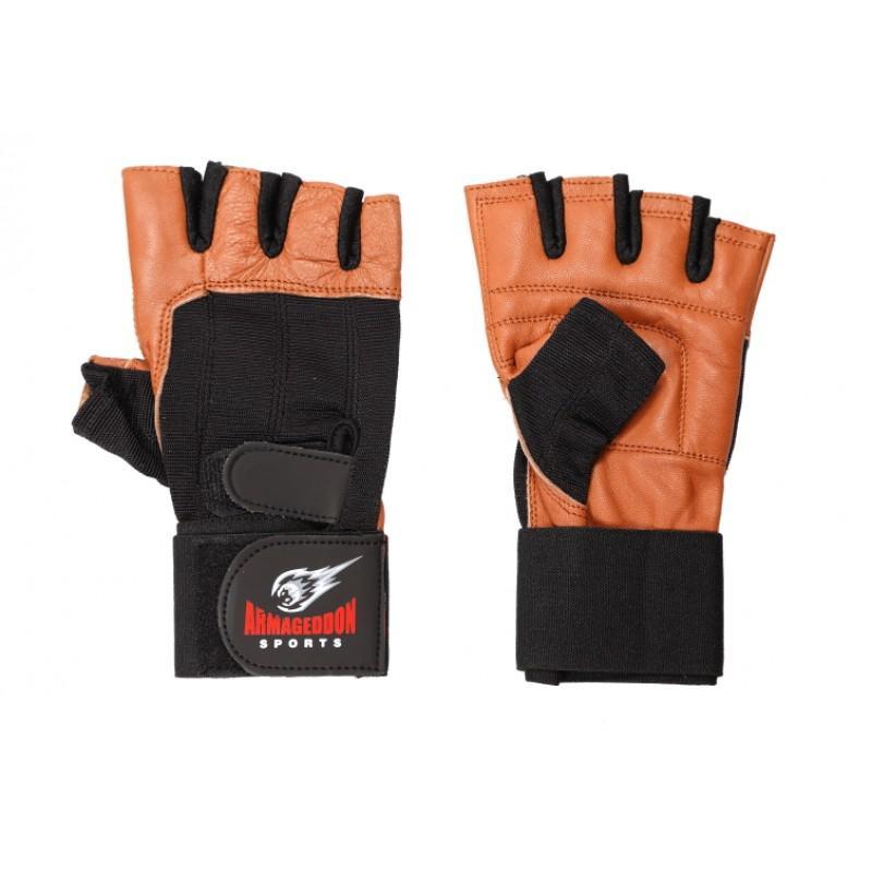 Фитнес ръкавици с накитници ARMAGEDDON SPORTS Brown