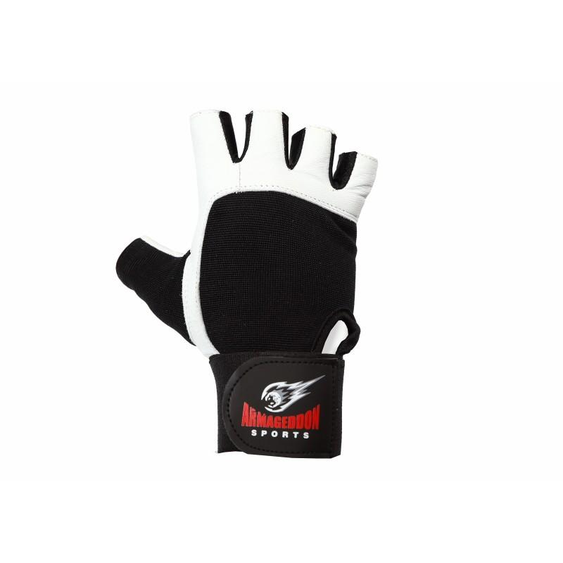 Фитнес ръкавици ARMAGEDDON SPORTS White