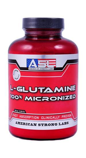 L-GLUTAMINE 100% MICRONIZED 300gr.