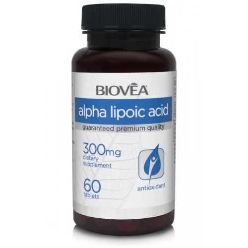 Biovea Alpha Lipoic ACID 300mg 60 капсули