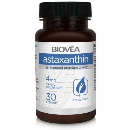 Biovea ASTAXANTHIN 4mg 30 капсули