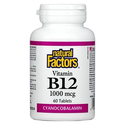 Витамин В12 1000 mcg 60 таблетки