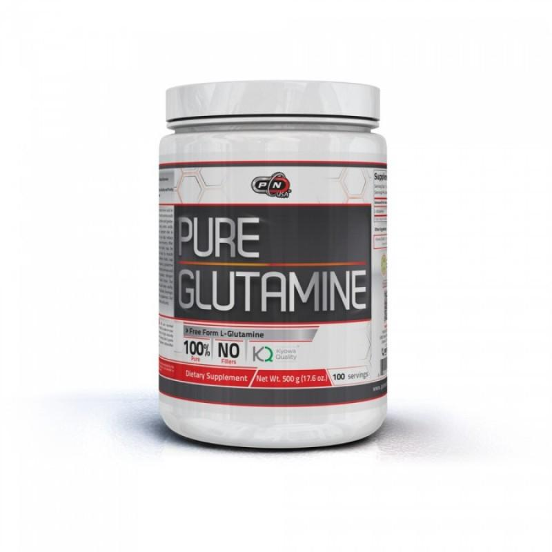 100% PURE GLUTAMINE - 500 Г Pure Nutrition