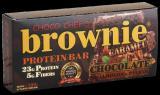 BROWNIE PROTEIN BAR 1 бр. X 100 гр. карамел, бадеми и орехи