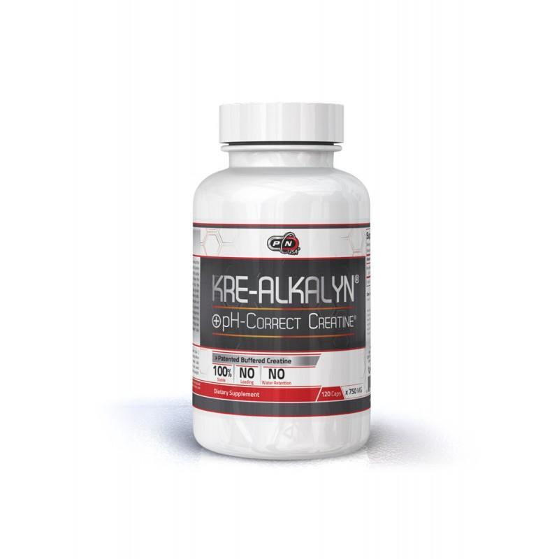 KRE-ALKALYN 750 МГ - 120 Капсули Pure Nutrition