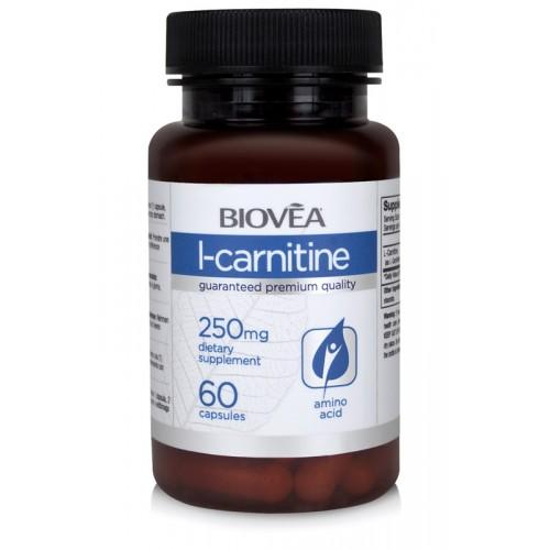 Biovea L-CARNITINE 250mg 60 капсули