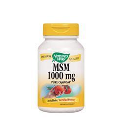 МСМ / Метилсулфонилметан 1000 mg х 120 капс.