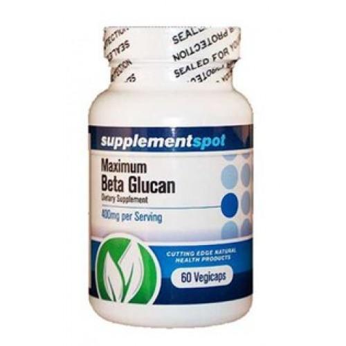 Maximum Beta Glucan 400mg 60caps - Бета Глюкан - мощен имуностимулатор и антиоксидант