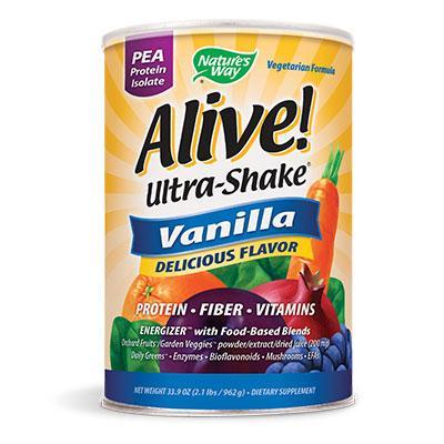 Алайв! Ултра шейк грахов протеин изолат, с вкус на ванилия, 555 гр./ 15 дози