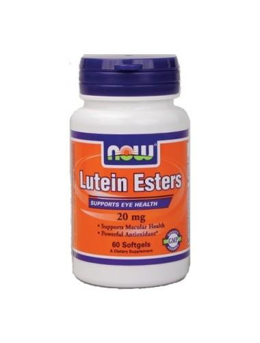 Лутеин NOW - LUTEIN ESTERS 20 МГ - 60 ДРАЖЕТА