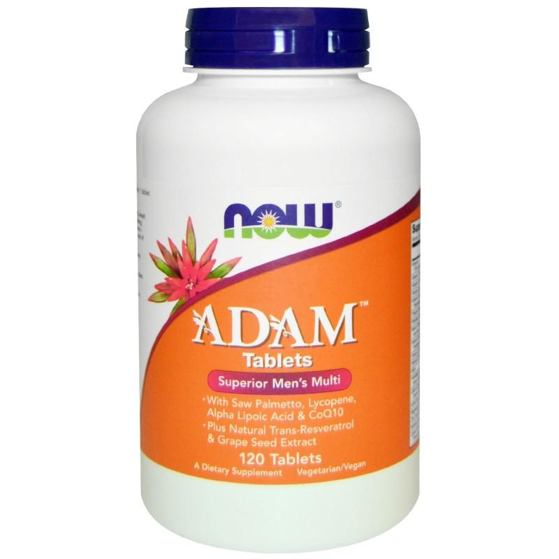 ADAM Men`s Vitamins   120 таблетки