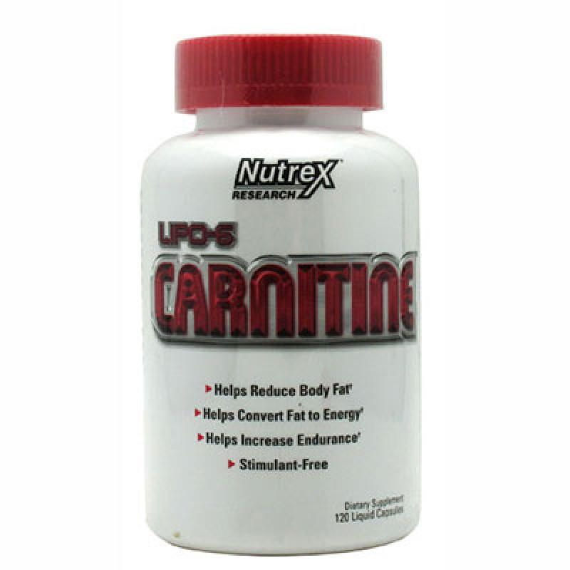L-Carnitine -60 капсули Nutrex
