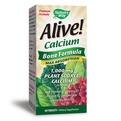 Калций /растителна формула за кости/ 295 mg х 60 таблетки