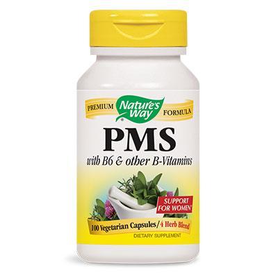 ПМС (Витамин В6 и Витамини група B) 240 mg x 100 V-капсули