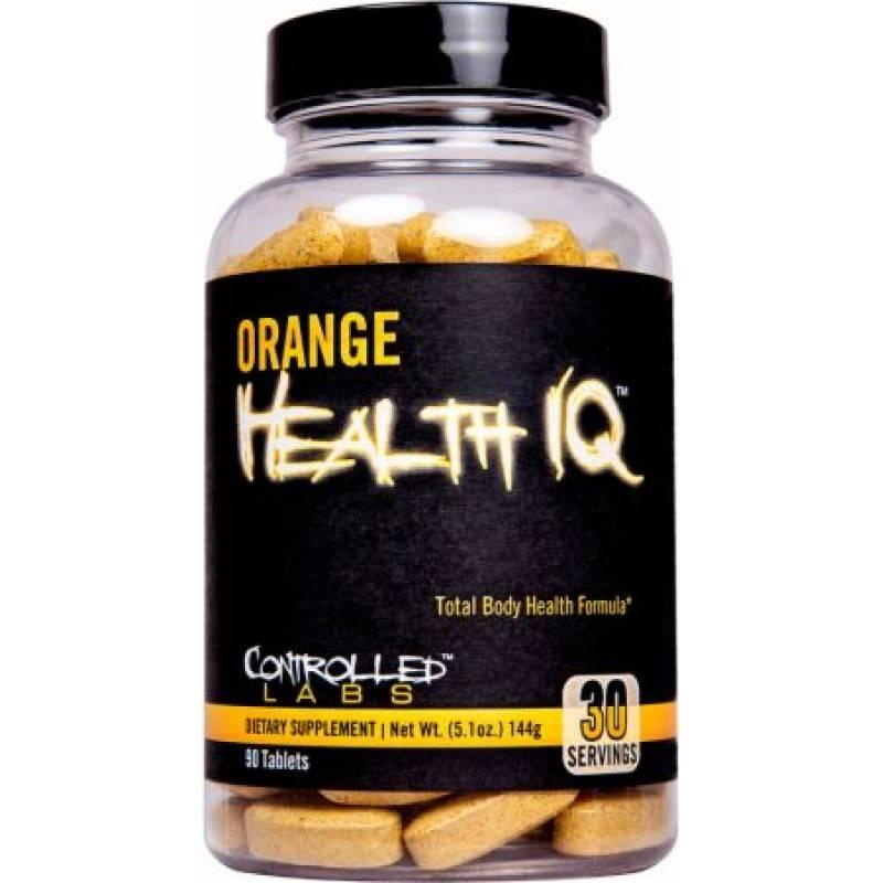 Orange Health IQ - 90 таблетки CONTROLLED LABS