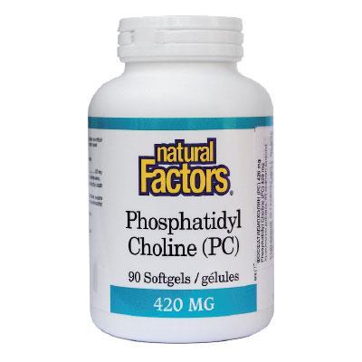 ФосфатидилХолин 420 mg х 90 софтгел капсули