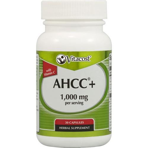 AHCC(R) with Vitamin C - 500 mg 30 Caps Vitacost