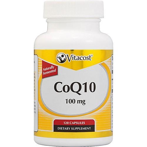 CoQ10 100 mg 120 Capsules Vitacost