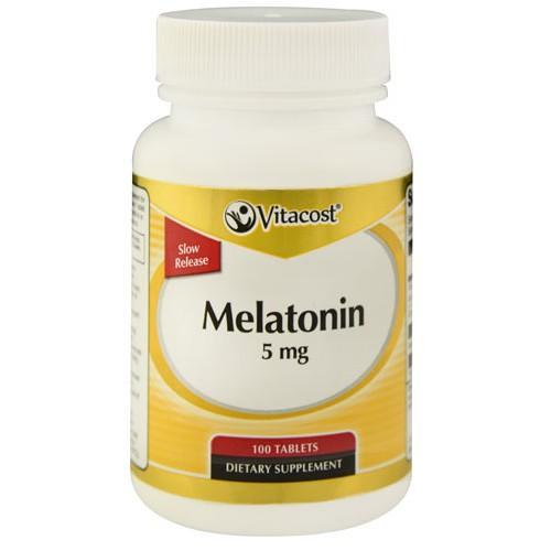 Melatonin Slow Release 5 mg 100 Tablets