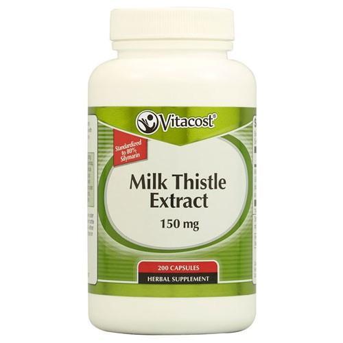 Milk Thistle Extract 150 mg 200 Capsules
