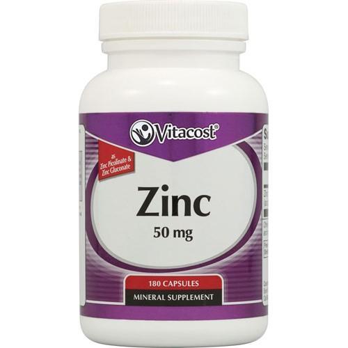 Zinc Gluconate / Picolinate 50 mg 180 Capsules