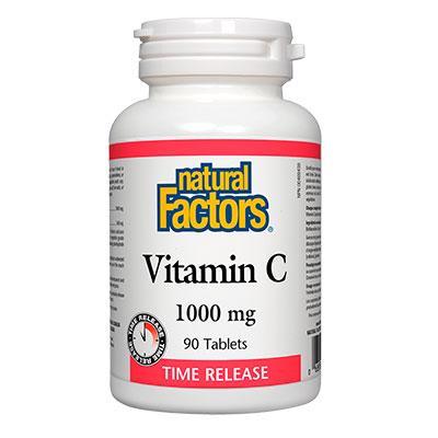 Витамин С 1000 mg (с удължено освобождаване) и биофлавони
