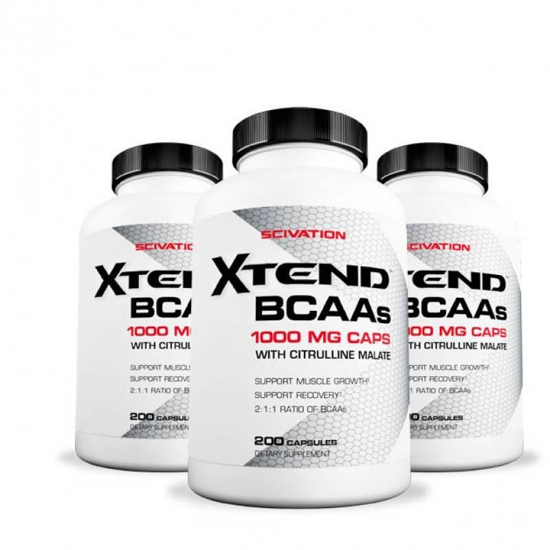 Xtend BCAA 200 caps  Scivation