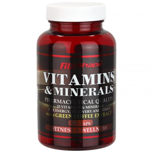 VITAMINS & MINERALS - 90 капсули