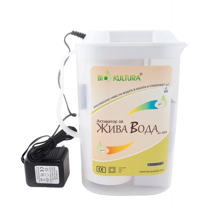 Активатор за жива и мъртва вода с титаниев електрод, Bio Kultura