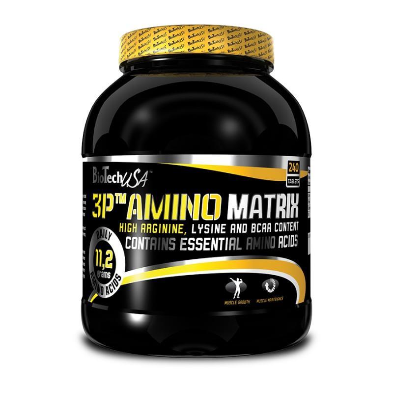 BioTech - 3P Amino Matrix - 240 Таблетки