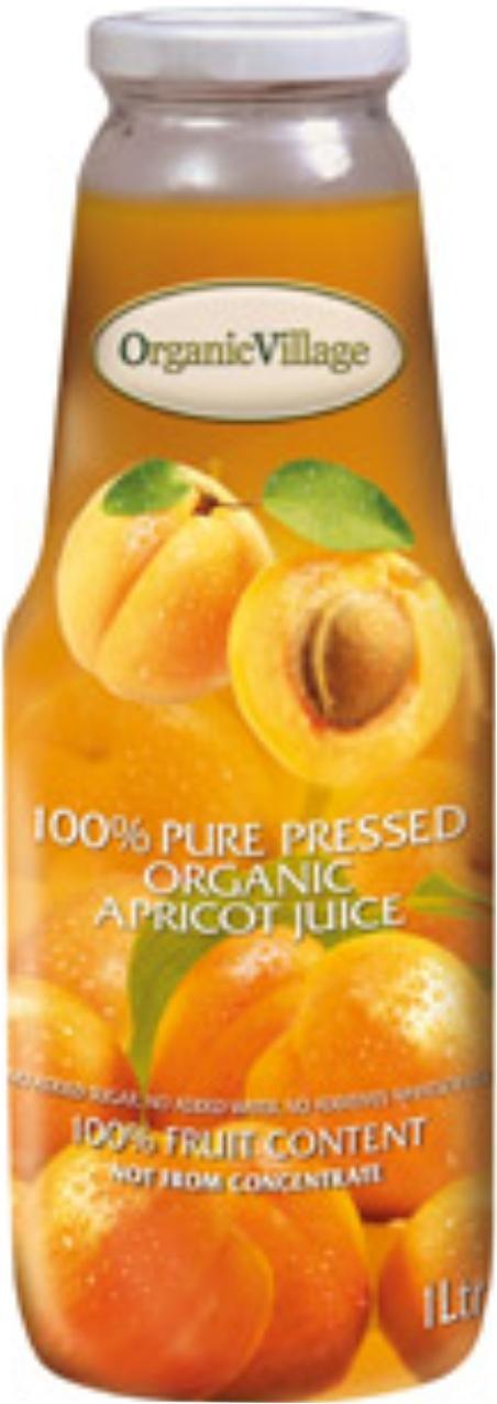 100 % Кайсия, Органик, 1 литър