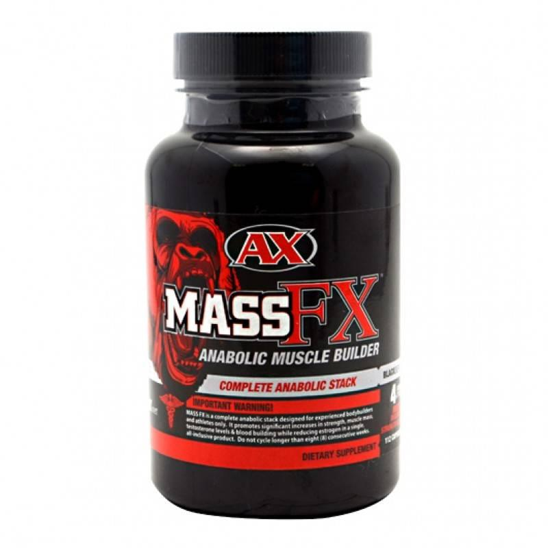 Mass FX Black - 112 Капсули Athletic Xtreme