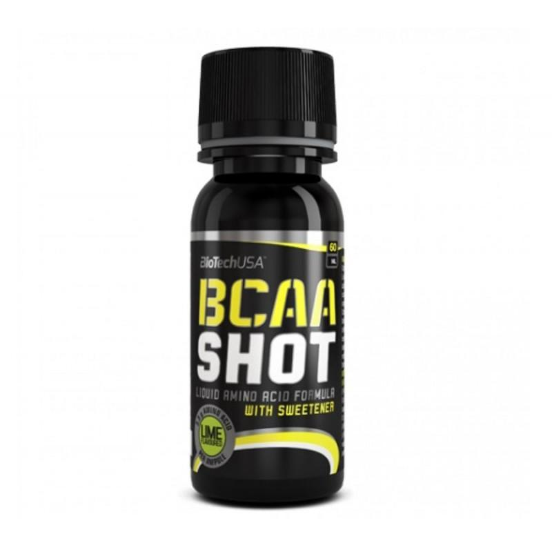 BioTech - BCAA Shot - 60 МЛ (Лайм)