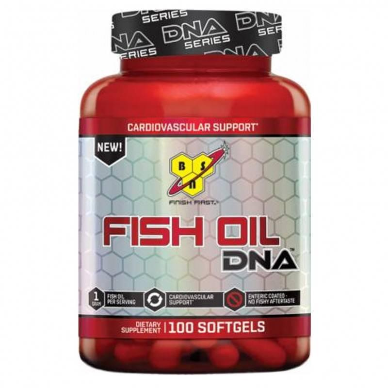 DNA FISH OIL (РИБЕНО МАСЛО) - 100 КАПСУЛИ  BSN