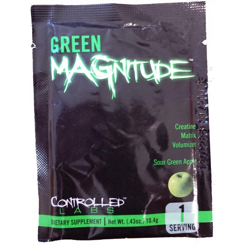 Green Magnitude - 10 Дози CONTROLLED LABS
