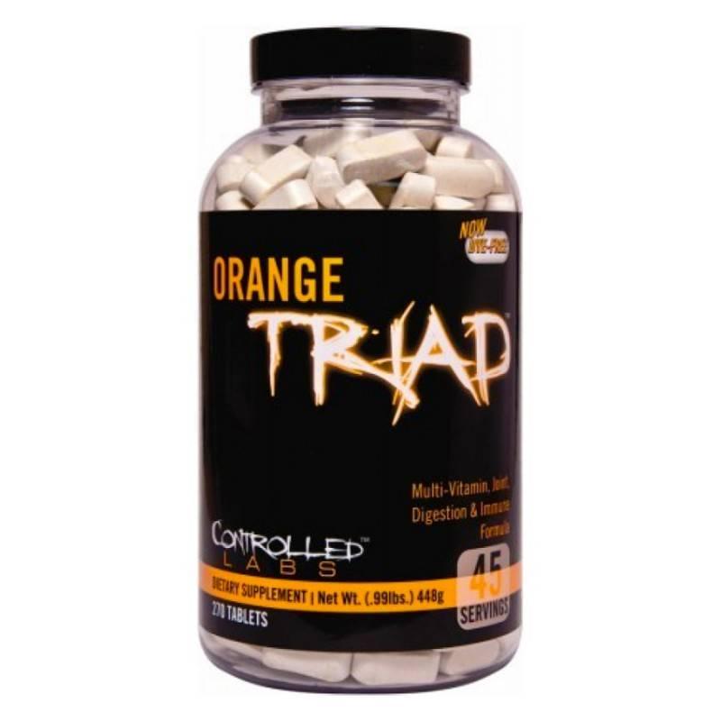 Orange Triad - 270 Таблетки CONTROLLED LABS