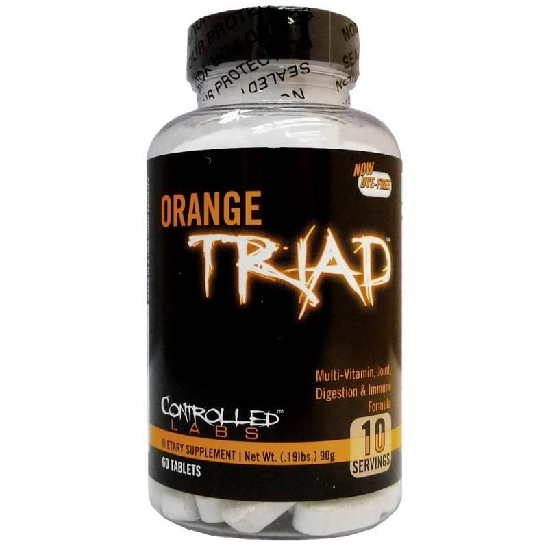 Orange Triad - 60 Таблетки CONTROLLED LABS