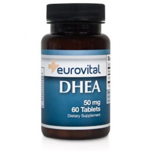 DHEA 50mg 60 Capsules - против стареене, при стрес