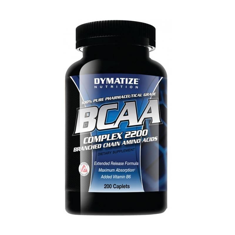 BCAA Complex 2200 - 200 Капсули DYMATIZE