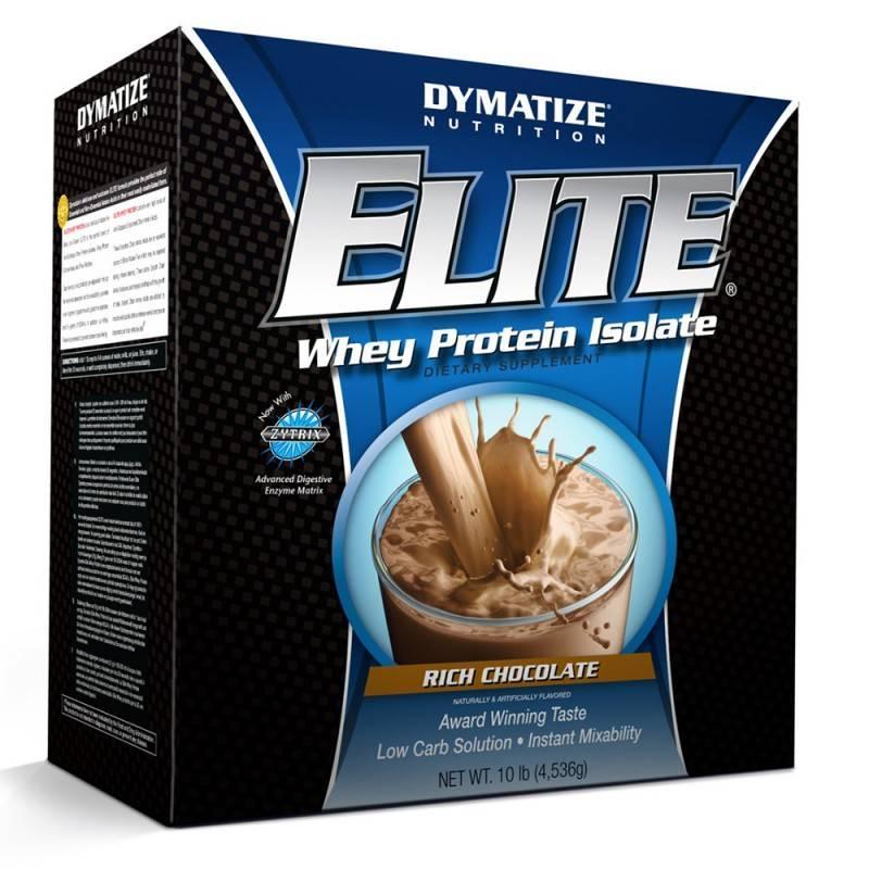 DYMATIZE - Elite Whey Protein - 4536 Г