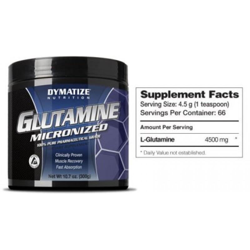 DYMATIZE - Glutamine Micronized - 300 Г