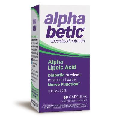 Алфа Липоева Киселина АлфаБетик 200 mg x 60 капс.