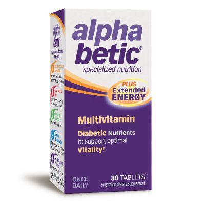 Мултивитамини АлфаБетик 760 mg х 30 табл.